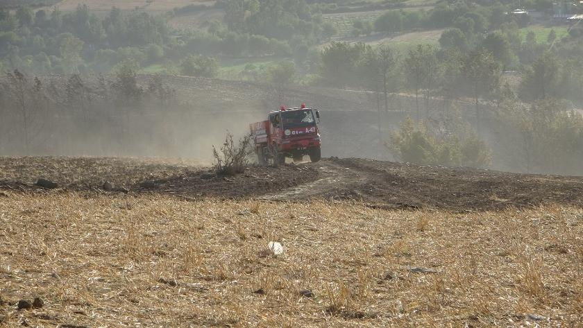 Adana'da aynı bölgede ikinci orman yangını! Söndürülemiyor!