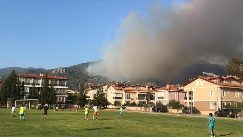 Dalaman'da ki yangın kontrol altına alındı! Köyceğiz söndürülemiyor!