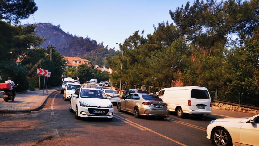 Tatilciler Marmaris'i terk etmeye başladı