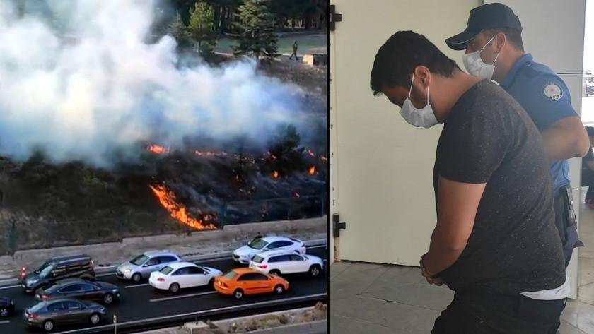 Başsavcılıktan Polatlı'daki yangının faili hakkında açıklama