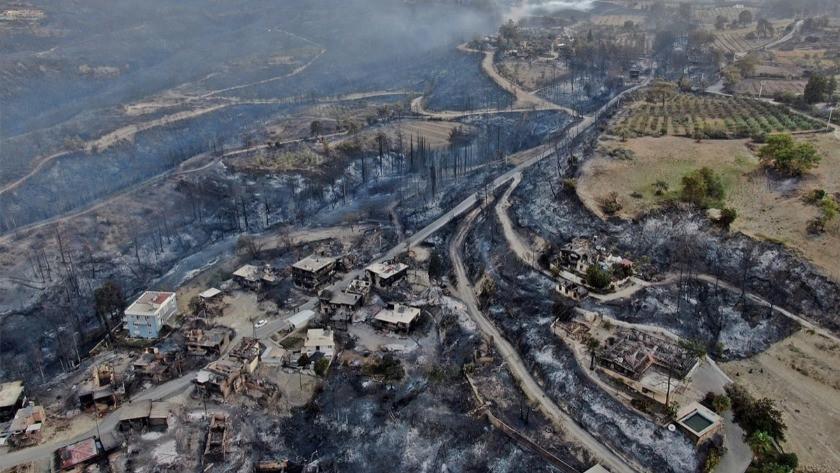 Manavgat'taki yangında hayatını kaybedenlerin sayısı 5'e yükseldi!