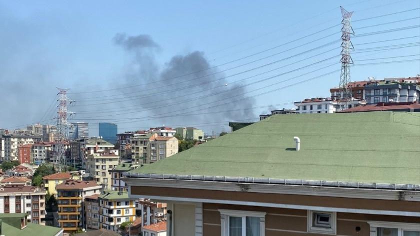 İstanbul'da korkutan yangın! Kilometrelerce öteden görüldü...