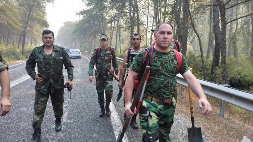 Azerbaycan'dan Marmaris'e destek ekibi!