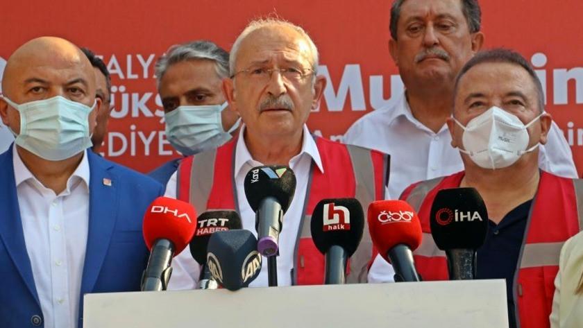 Kılıçdaroğlu'ndan şaşırtan iddia: 'O helikopterler yangını büyütüyor!'