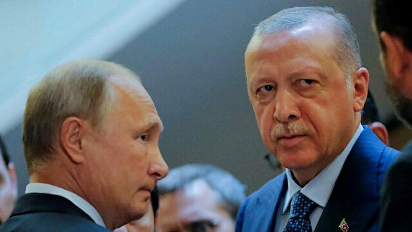 Cumhurbaşkanı Erdoğan ile görüşen Putin'den 'geçmiş olsun' mesajı