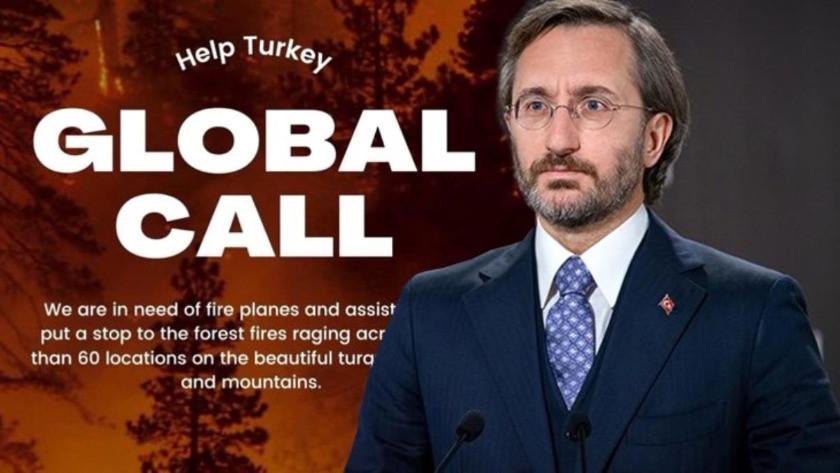 "Fahrettin Altun'dan ""help Turkey"" etiketine sert tepki!"