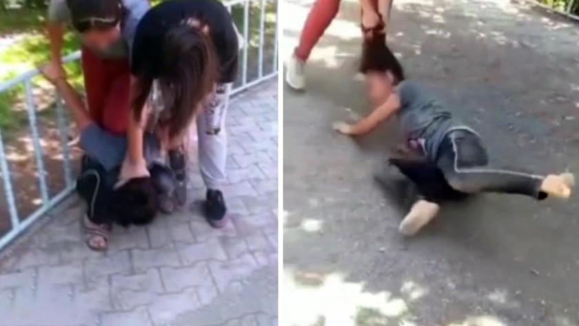 13 yaşındaki kız çocuğunu önce saçından tutup sürüklediler sonra da...