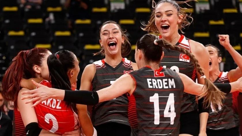 Tokyo 2020'de A Milli Kadın Voleybol Takımının rakibi belli oldu!