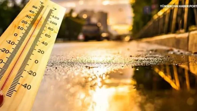 Meteoroloji'den 3 il için sel uyarısı ve yüksek sıcaklık açıklaması