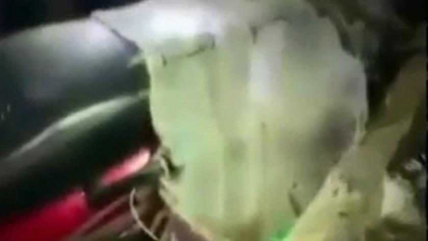 Felaketin yaşandığı Manavgat'ta motosiklette molotof düzeneği bulundu