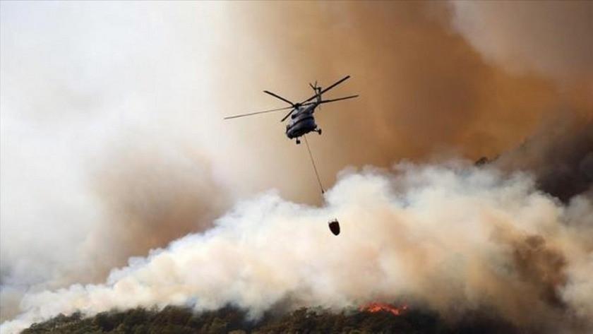 3 ilde yangınla mücadele devam ediyor