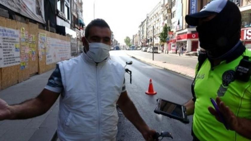İstanbul'da kendisine ceza yazan polise vatandaştan şaşırtan tepki!