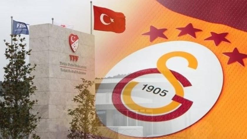 Galatasaray'dan TFF'ye sert gönderme!