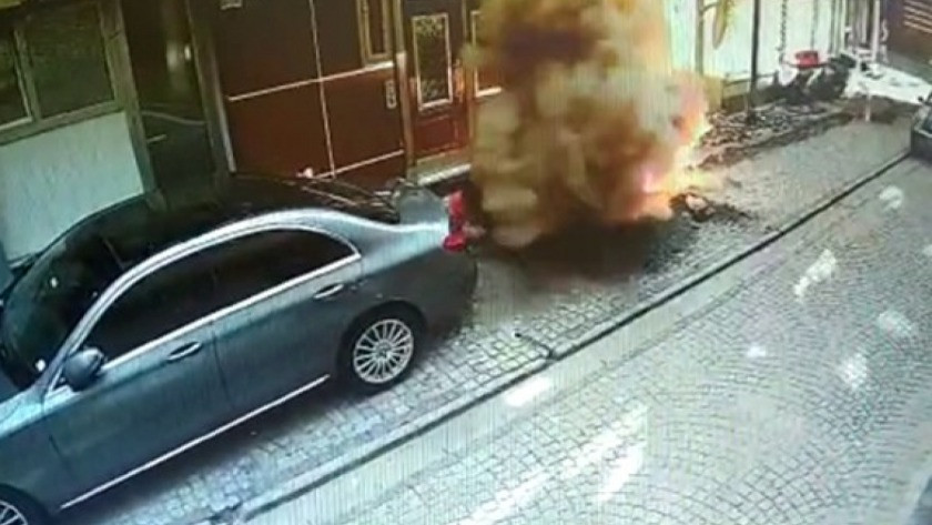 Zeytinburnu'nda kazı çalışması sırasında patlama meydana geldi