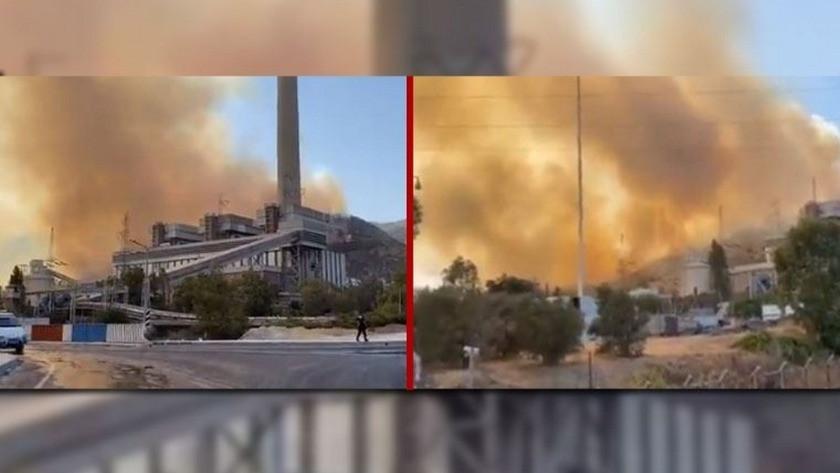 Belediye başkanından çağrı: Alevler Termik Santrale dayandı!
