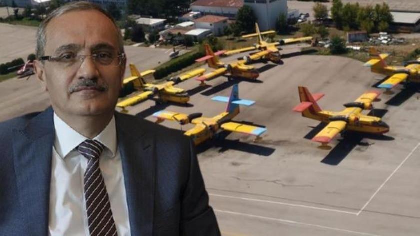 THK Kayyum Heyeti Başkanı: 6 yangın uçağının kalkması için gereken...