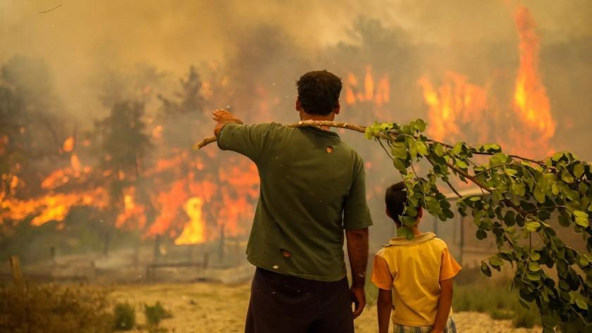 Bodrum, Marmaris, Köyceğiz, Milas yangınlarında haberler kötü!