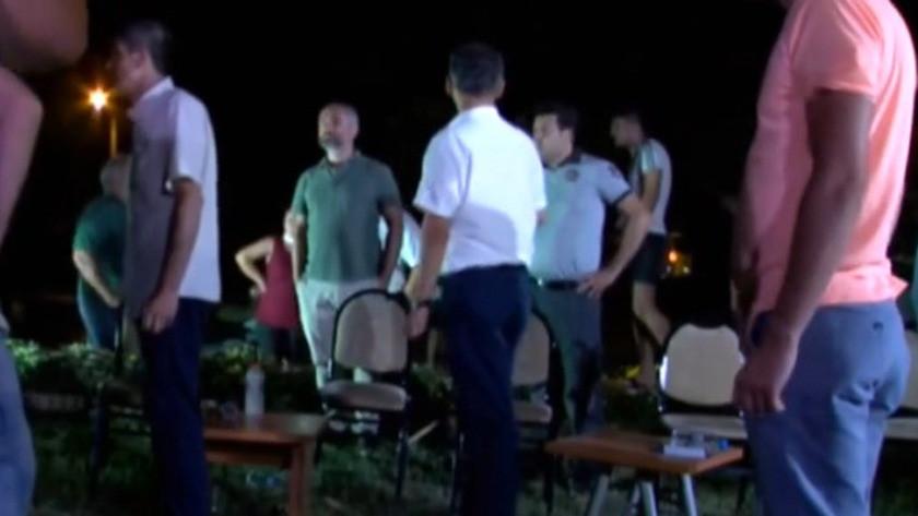Halk TV canlı yayınına baskın yapıldı! İşte saldırı anı! video izle