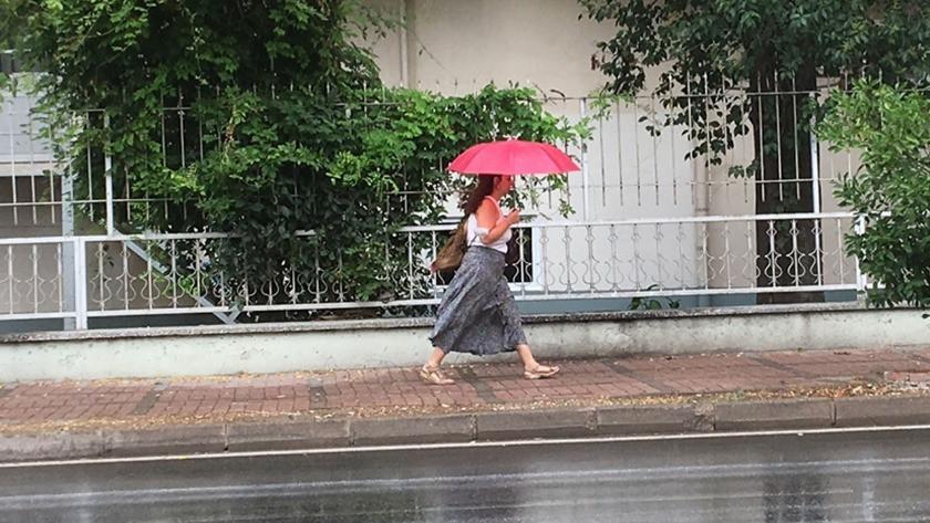 Antalya'da sağanak yağmur sevinci!