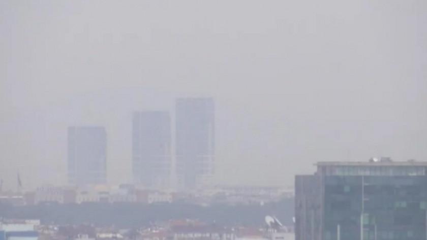 İstanbul güne kül bulutlarıyla başladı!