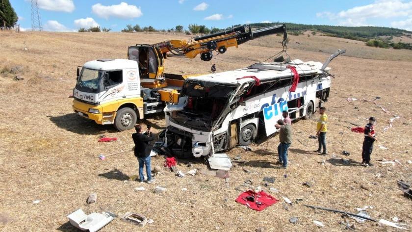 Balıkesir otobüs kazası ile şok detaylar ortaya çıktı