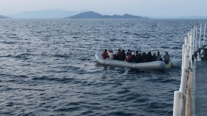 İzmir'de düzensiz göçmen hareketliliği! 134 göçmen kurtarıldı...