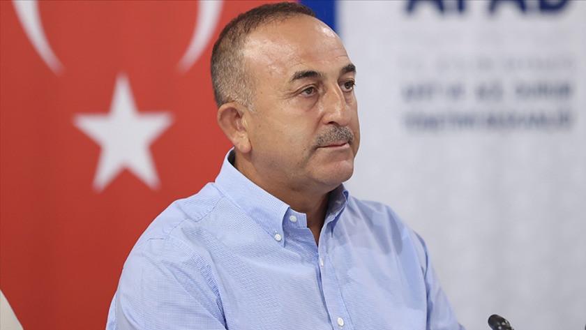 Bakan Çavuşoğlu Antalya'daki yangının bilançosunu açıkladı