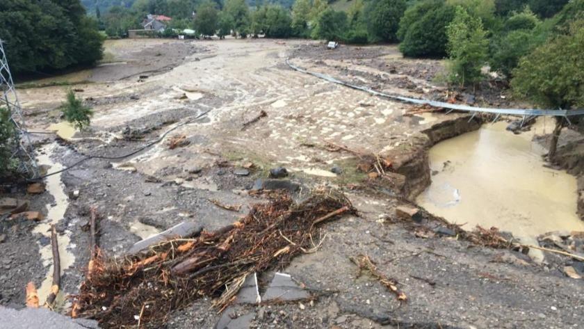 Bartın'da sel felaketi! Felaketinin dehşeti gün ağarınca ortaya çıktı