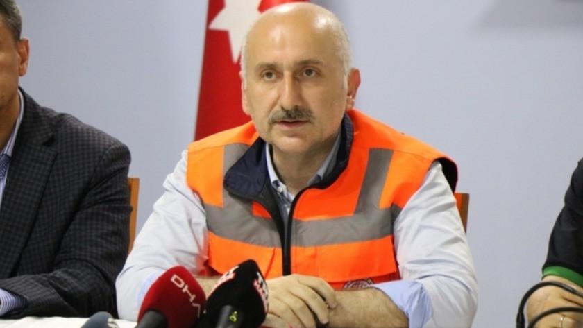 """Bakan Karaismailoğlu: """"Bu çok ender görülen bir yağış miktarı"""""""