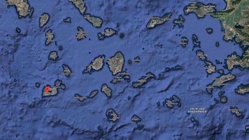 İngiltere bayraklı yat Ege Denizi'nde sulara gömüldü