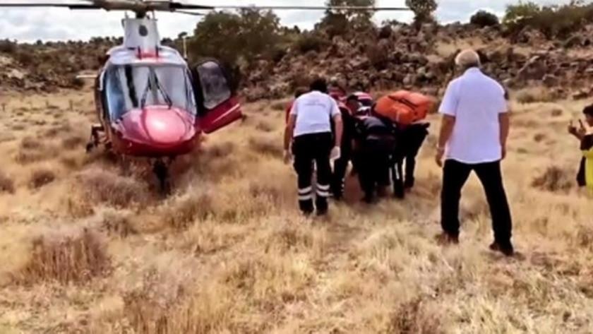 Yamaç Paraşütü Türkiye Şampiyonası'nda akılalmaz kaza!