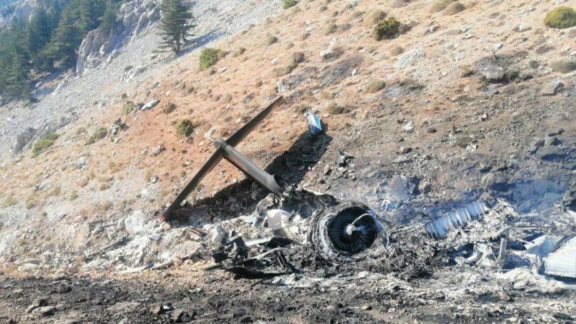8 kişinin hayatını kaybettiği uçak kazasının enkazına ulaşıldı!
