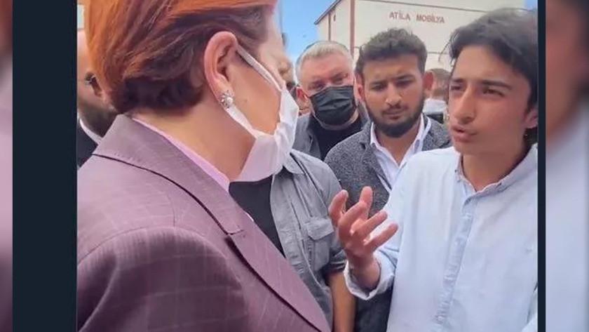 Meral Akşener'in paylaştığı video kurgu çıktı