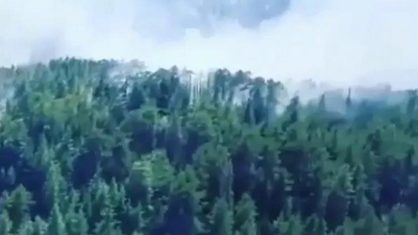 Antalya'da bir ormanda daha yangın çıktı