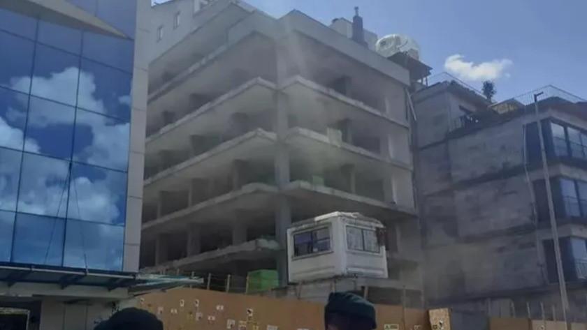 Beyoğlu'nda inşaatta çıkan yangında 5 kişi yaralandı