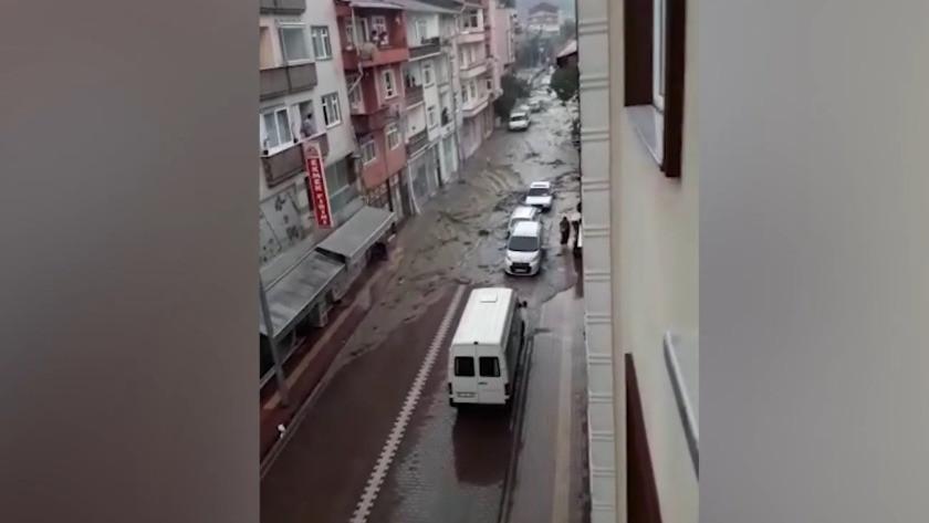 Bozkurt'taki selin ardından korkunç görüntüler ortaya çıktı
