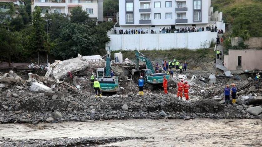 Batı Karadeniz sel felaketinde can kaybı 62'ye yükseldi