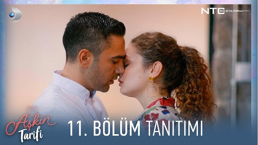 Aşkın Tarifi 11.Bölüm Fragmanı izle