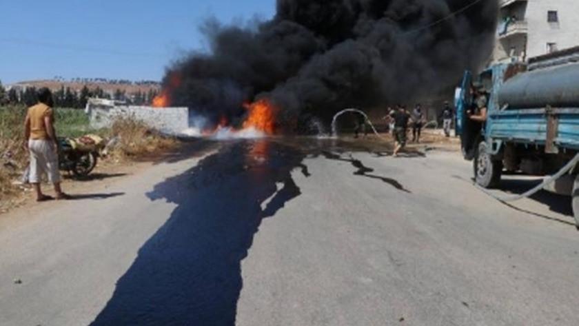 PKK'dan Afrin'e ÇNRA saldırısı: 3 ölü, 3 yaralı