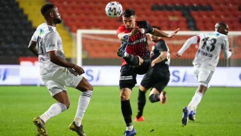 Beşiktaş, Gaziantep'te 1 puana razı oldu