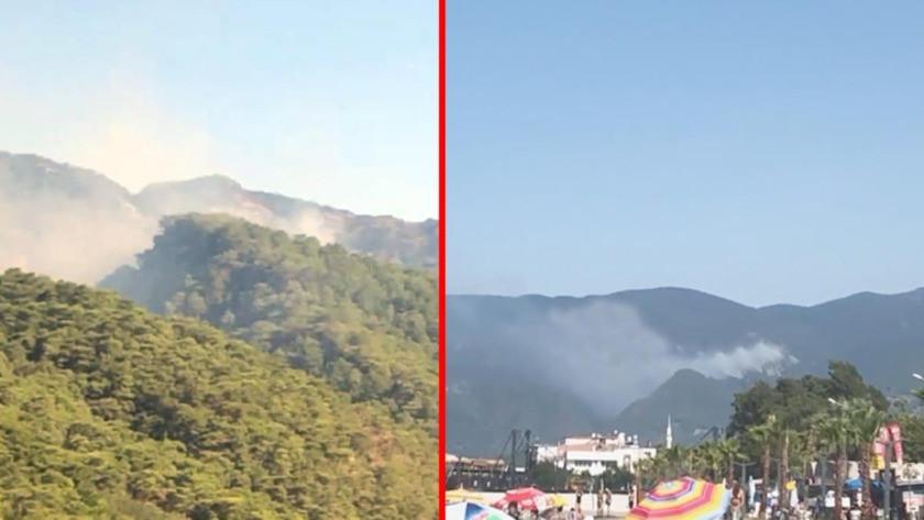 Kazdağları'ndaki orman yangını rüzgârın etkisiyle büyüyor!