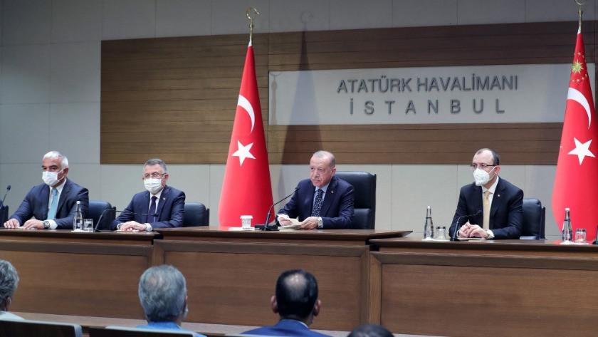 Cumhurbaşkanı Erdoğan Taliban'ın teklifini açıkladı
