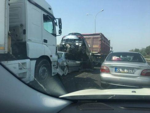 İstanbul Hadımköy'de zincirleme kaza! - Sayfa 2