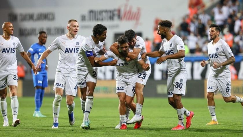 Altay-Fenerbahçe Süper Lig maç sonucu: 0-2