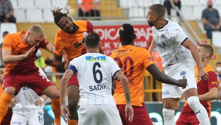 Kasımpaşa 2-2 Galatasaray (Maç sonucu)
