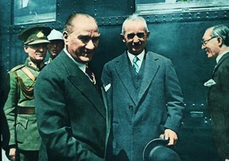 Genelkurmay arşivinden Atatürk'ün renkli fotoğrafları ! - Sayfa 1