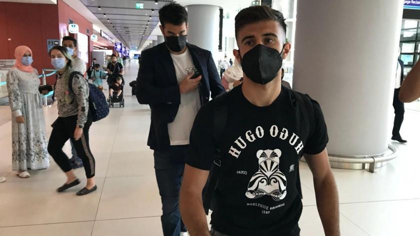 Fenerbahçe'nin yeni transferi Diego Rossi İstanbul'a geldi!