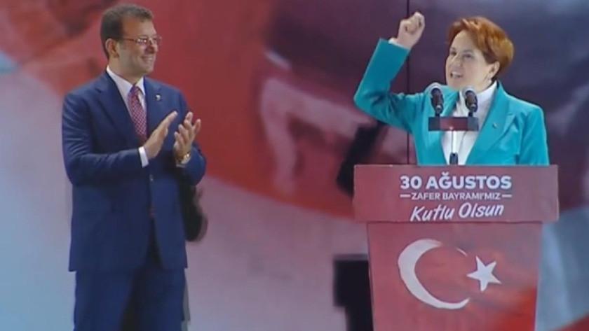 Meral Akşener'in İmamoğlu'nu Fatih'e benzetmesine tepkiler büyüyor