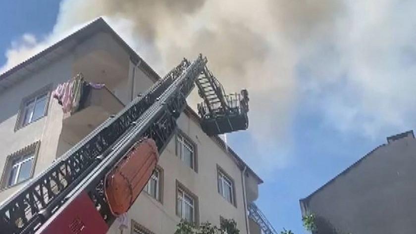 İstanbul Avcılar'da korkutan yangın!