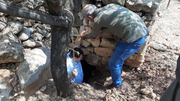 Fosseptik çukuru kazarken tesadüfen buldular! Uzunluğu 80 metre - Sayfa 2